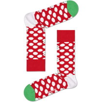 Buy Big Dot Snowman Sock Crew Red