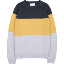 Buy Block Knit Ochre