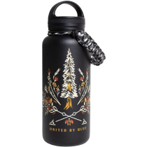 Buy Bloom Wildly 32Oz Stainless Steel Bottle Black