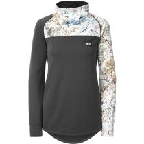 Buy Blossom Grid Fleece Shrub/Black