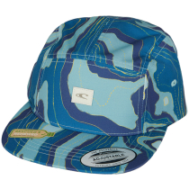 Kauf Bm O'Neill Jockey Cap Blue Aop W/ Yellow Or Orange
