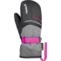 Buy Bolt GTX Junior Mitten Black/Black Melange/Pink Glo