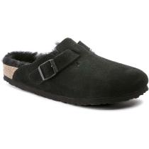 Compra Boston Shearling Suede Leather Black