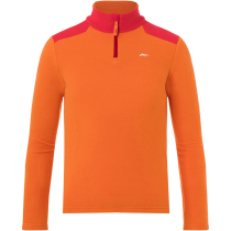 Buy Boys Charger Half-Zip Kjus Orange/Scarlet