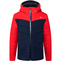 Buy Boys Downforce Jacket Atlanta/Scarlet