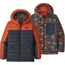 Acquisto Boys' Reversible Down Sweater Hoody Metric Orange