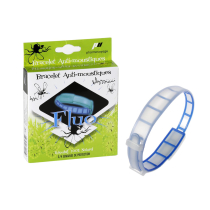 Achat Bracelet anti insectes phosphorescents Bleu