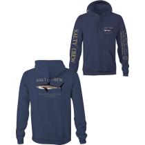 Acquisto Bruce Hood Fleece Navy