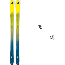Compra Pack Rando Zero G 85 Yellow Blue 2020