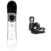 Acquisto Pack Snowboard Clash Black&White 2021