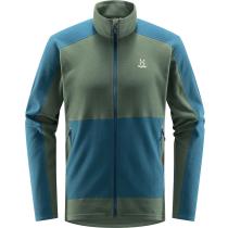 Buy Buteo Mid Jacket Men Fjell Green/Dark Ocean