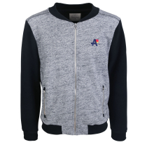 Buy Buuregeil Zip Sweat Grey Melange