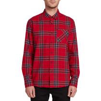 Kauf Caden Plaid L/S Engine Red