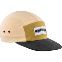 Achat Cap Five Panel Almond Cream/Cumin/Black