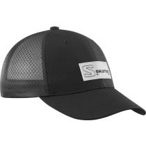 Achat Cap Trucker Curved Black/Black