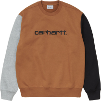 Kauf Carhartt Tricol Sweat Loose Hamilton Brown