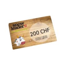 Achat Carte cadeau virtuelle 200CHF