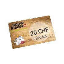 Achat Carte cadeau virtuelle 20CHF