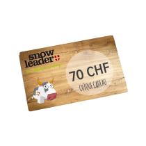 Achat Carte cadeau virtuelle 70CHF