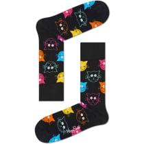 Buy Cat Sock Crew Black