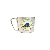 Acquisto Catch You Later 12Oz (355 ml) Stainess Steel Compass Cup