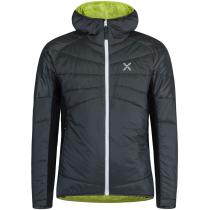 Buy Cervino Hoody Jacket Piombo/Verde Lime