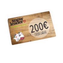 Achat Carte cadeau virtuelle 200€