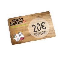 Achat Carte cadeau virtuelle 20€