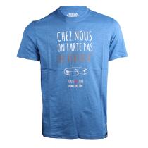Buy Chez Nous On Farte Pas Au Rebloch Tee Royal Blue