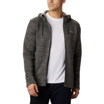 Kauf Chillin Hooded FZ Fleece M Black Herringbone