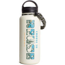 Achat Choose To Reuse 32Oz Stainless Steel Bottle Cream