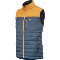 Kauf Circle Vest M Camel Dark Blue