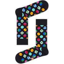 Buy Clashing Dot Sock Crew Black