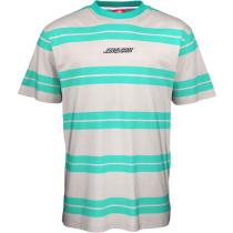 Acquisto Classic Strip T-Shirt Light Grey/Jade Green