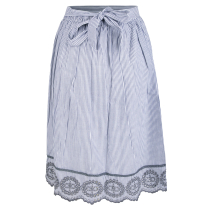 Kauf Cocole Skirt Navy Striped