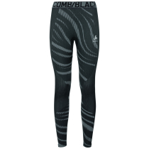 Kauf Collant Performance Blackcomb Black-Odlo Concrete Grey