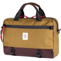 Achat Commuter Briefcase Duck Brown/Dark Brown Leather