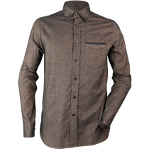 Buy Cottage 1 LS Shirt M Camel/Black