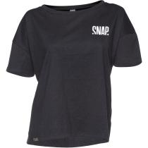 Acquisto CropTop Hemp T-Shirt Black