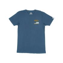 Acquisto Cruiser Premium S/S Tee Harbor Blue