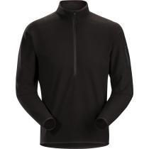 Buy Delta LT Zip Neck Men's Black