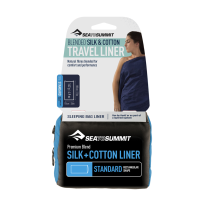 Buy Silk and cotton liner