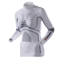 Achat Energy Accumulator Evo Zip Tee Women Blanc/Anthracite