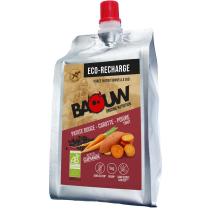 Buy Ecorecharge Purée Bio 330g Baouw Patate Douce-Carotte-Poivre Timut