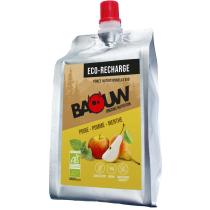 Buy Ecorecharge Purée Bio 330g Baouw Poire-Pomme-Menthe