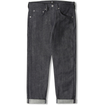 Kauf ED-55 Red Listed Selvage Denim Blue Unwashed