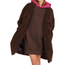 Buy Eesypeesy Coat Dark Brown