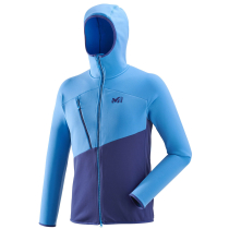 Acquisto Elevation Power Hoodie Blue Depths/Electric Blue