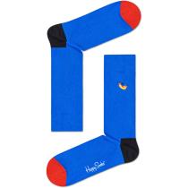 Acquisto Embroidery Hot Dog Dog Sock Bleu Électrique