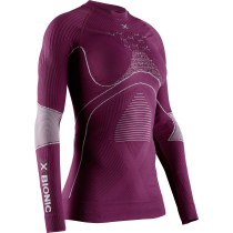 Achat Energy Accumulator 4.0 Round Neck LS W Plum/Pearl Grey